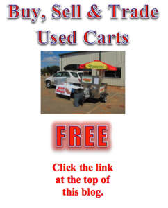 Used Hot Dog Carts