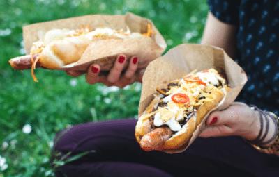 hot dog vendor income