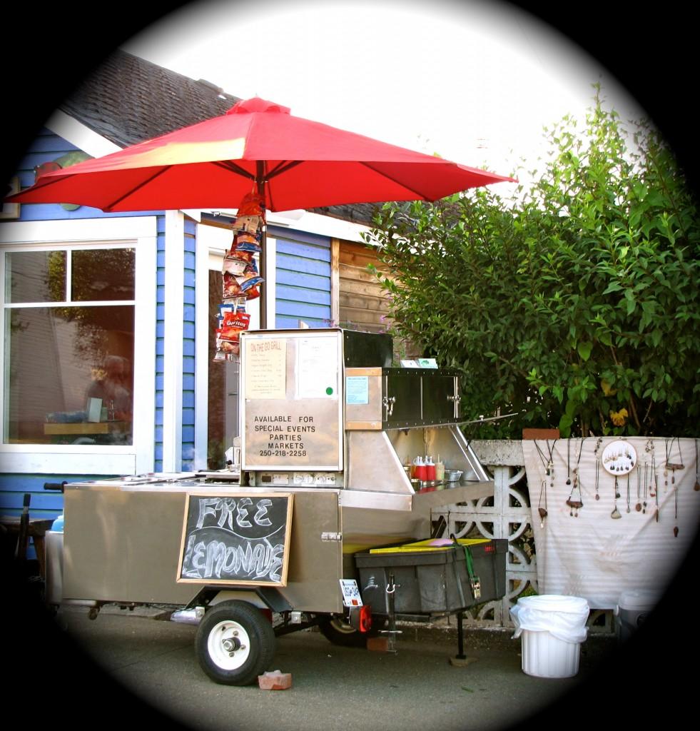 Lori's Big Dog Hot Dog Cart