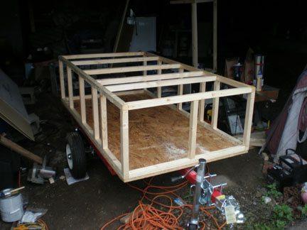 Bob's Hot dog cart build