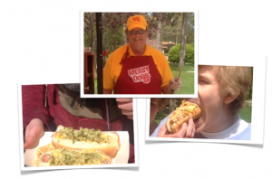 Tom's Hot Dog Cart