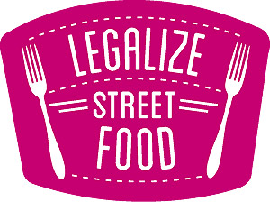 legalize street food sticker