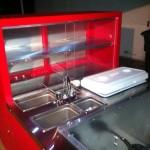 hot dog cart from http://benscarts.com/build-a-cart/ with led lighting