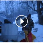 Hot Dog Vendor Video Winter