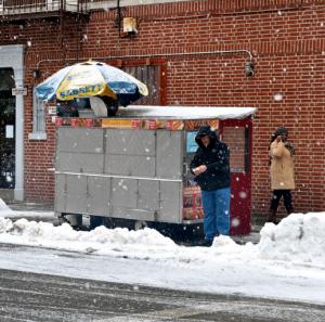 winter vendor