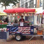 Hot Dog Cart Built by Hand
