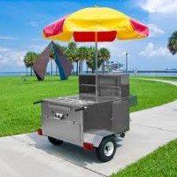 cheap hot dog cart
