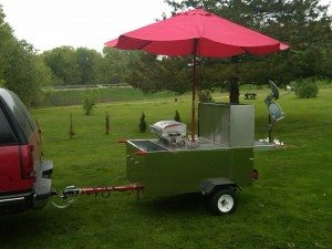 Hot Dog Cart Health Inspection