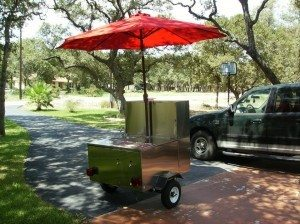 used cash cow hot dog cart sale