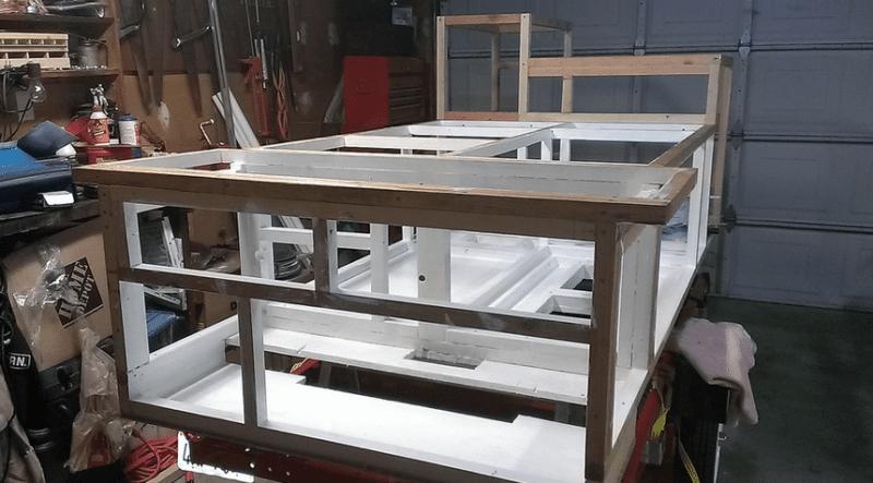 build hot dog cart