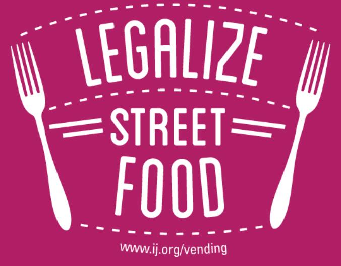 justice legalize street food