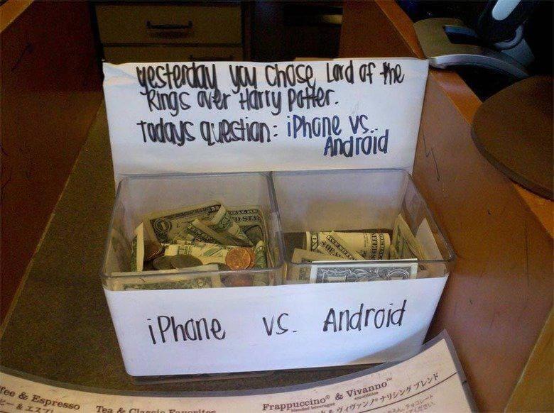 tip jar vote