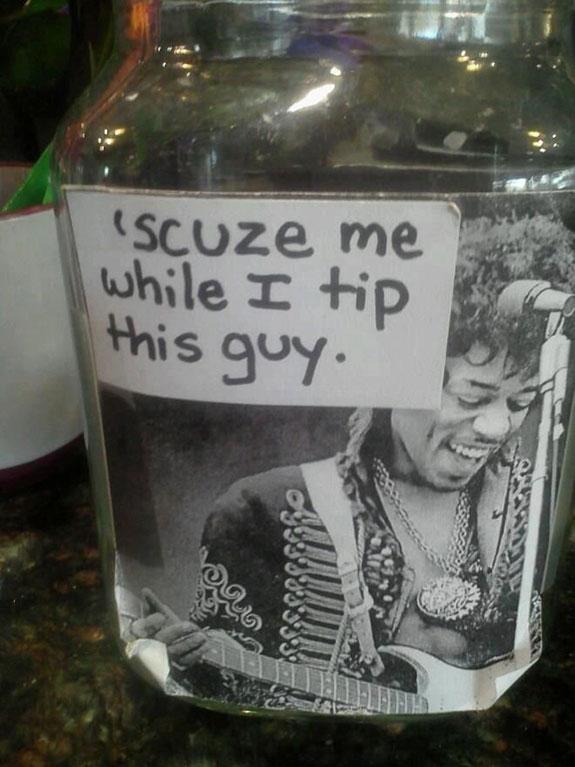 funny tip jar