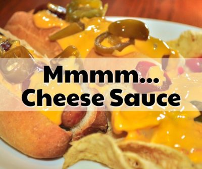 cheese sauce lumps