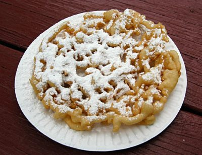 sell funnel cakes