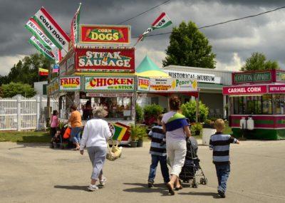 selling food at fairs