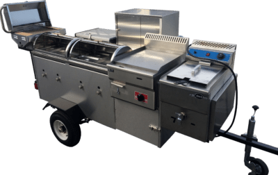 extreme mobile catering cart
