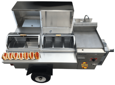 The cater pro mobile kitchen