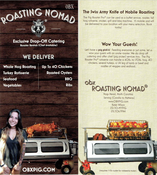 roasting nomad obx