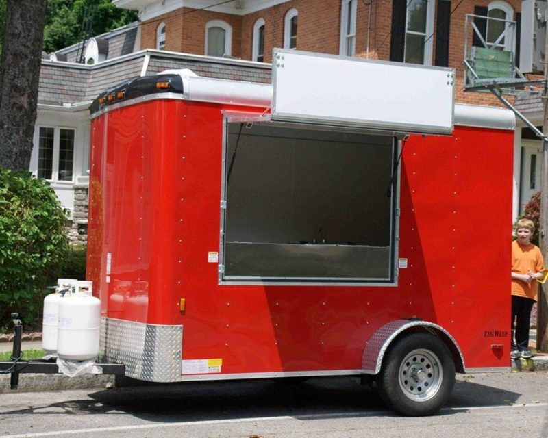 food trailer concession trailer