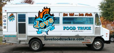 stand out food truck graphics