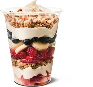 food truck breakfast yogurt parfait