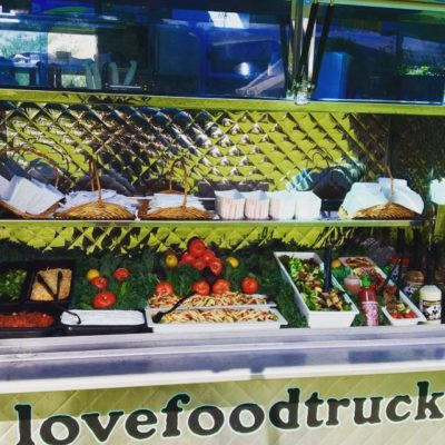food truck catering buffet