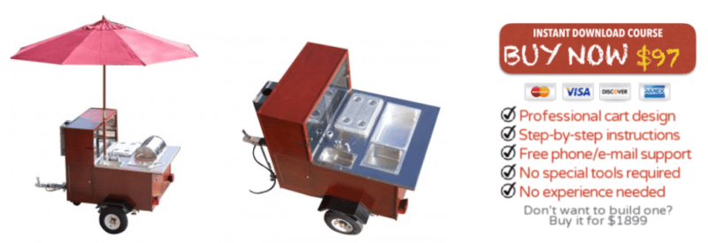 Hot Dog Cart Building Kit