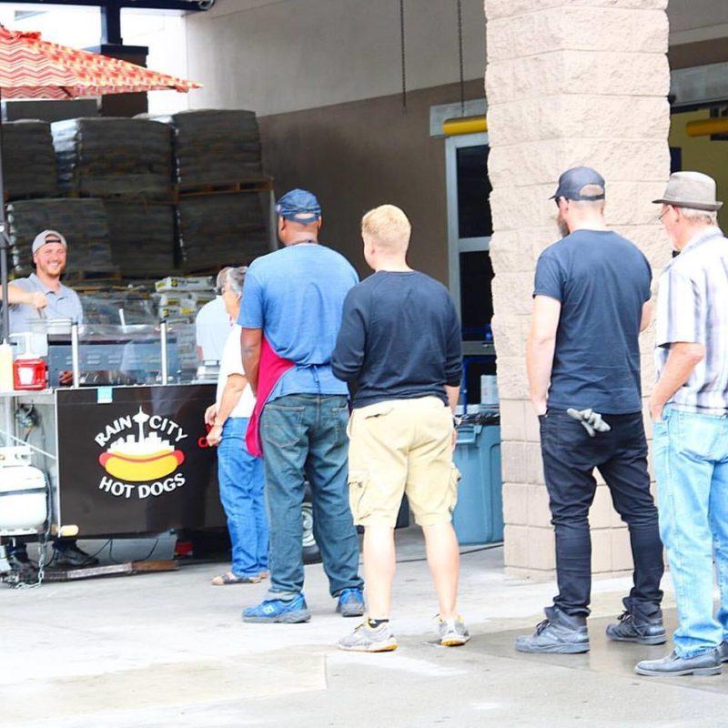 lowes hot dog cart