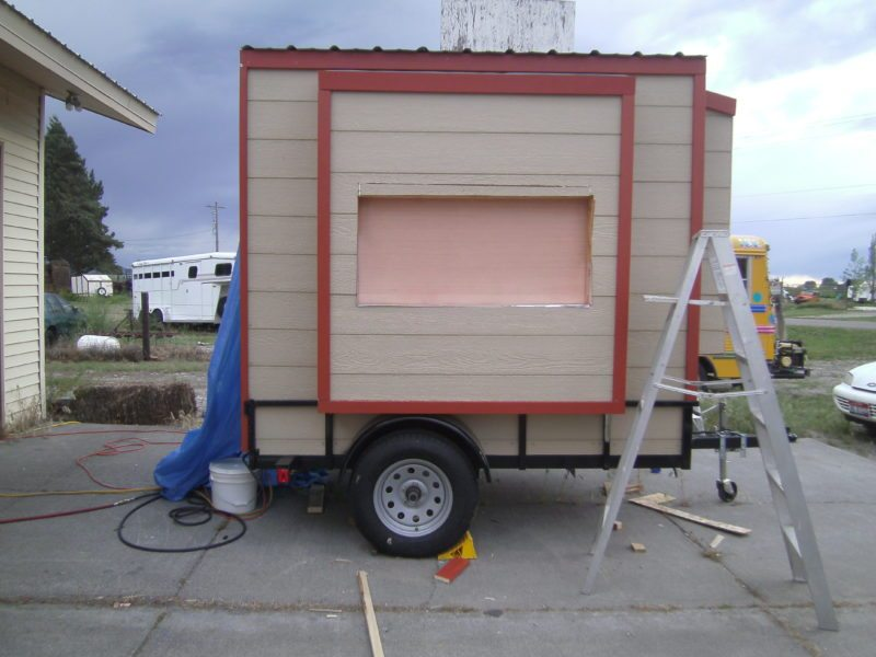 How To Build A Concession Trailer Food Trailer DIY