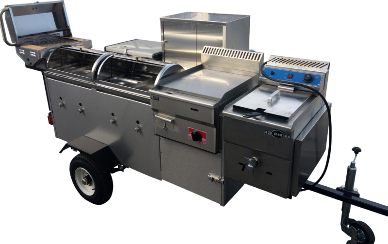 cater pro hot dog cart - your perfect mobile kitchen