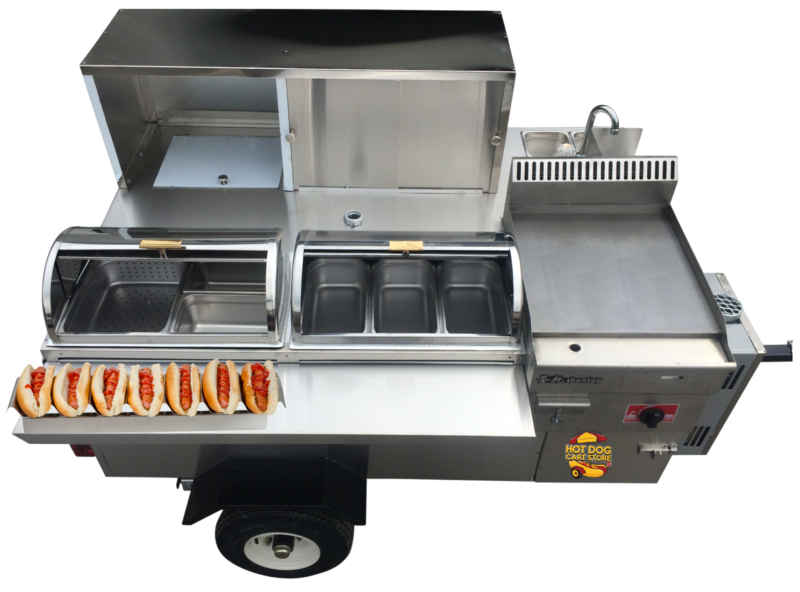 Cater Pro hot dog cart
