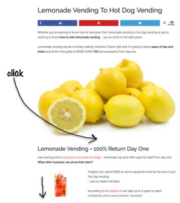 how to start a lemonade vending business