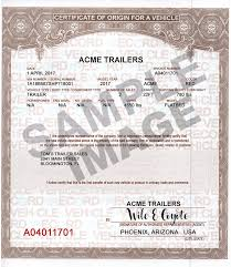 certificate of origin sample