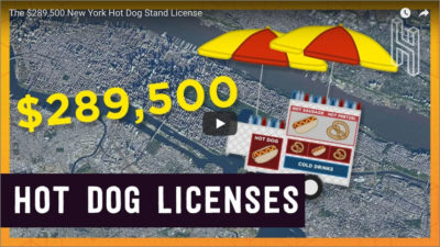 $289,000 Hot Dog Vendor Location Permit!!!