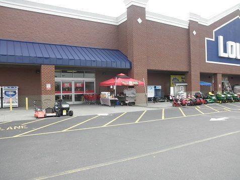 hot dog cart lowes home depot