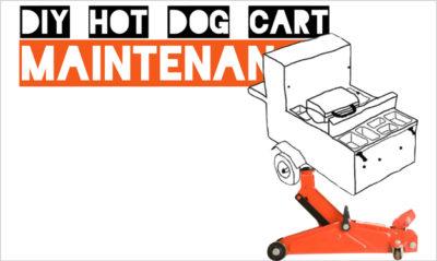 Hot Dog Cart Wheel Bearing Maintenance [VIDEO]