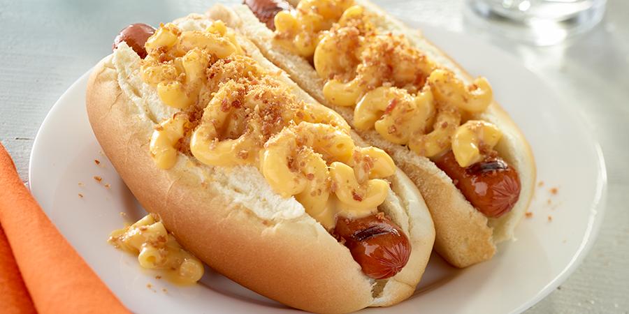 Mac and cheese hot dog - Vendor Recipes