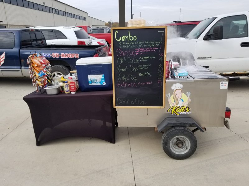 Hot Dog Vendor Interview With Kait's Carts & Catering