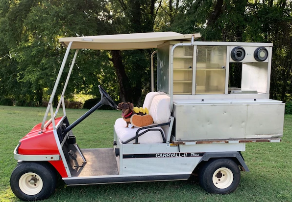 Golf Hot Dog Cart