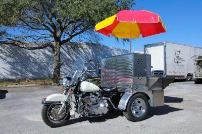 Hot Dog Cart Motorcycle