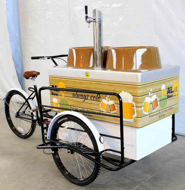 Hot Dog Cart Tricycle