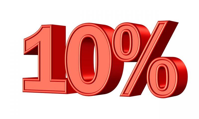 10% Rule For Savings