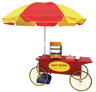 cheap hot dog cart