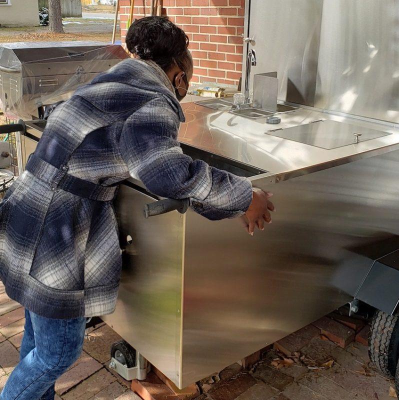 Natasha New Hot Dog Cart