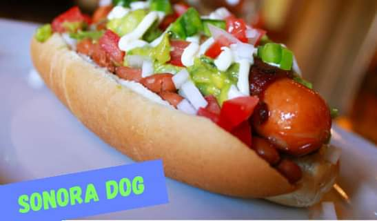 sonora dog mexican hot dog