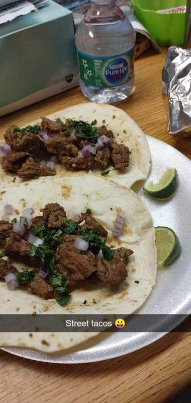 street tacos vending