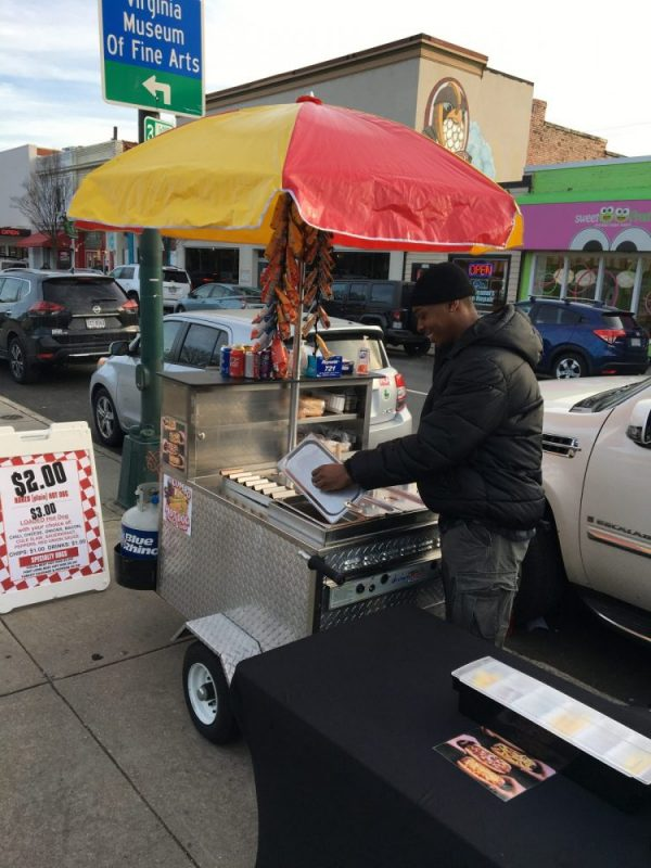 make a living selling hot dogs
