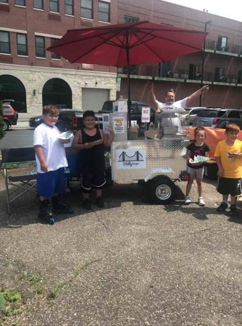 minnesota hot dog cart