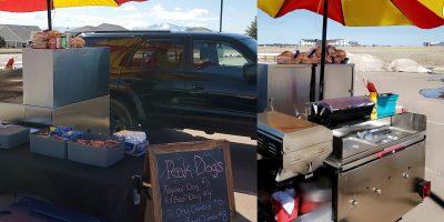 cash cow cart front back views